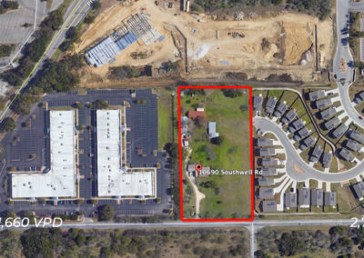 3.07 +/- Acres – 10690 Southwell Rd.