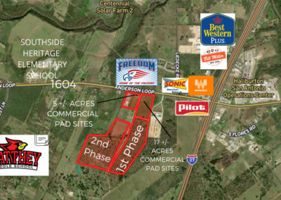 1-17 Acres – 1604 Frontage